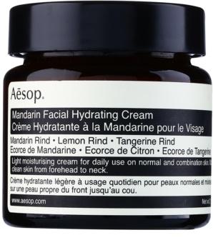 Aēsop Skin Mandarin лек хидратиращ дневен крем за нормална към смесена кожа