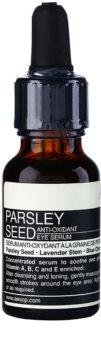 Aēsop Skin Parsley Seed sérum antioxidante para contorno de ojos