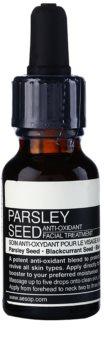 Aēsop Skin Parsley Seed sérum antioxydant pour tous types de peau