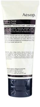 Aēsop Skin Purifying crème exfoliante douce