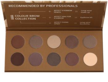 Affect Color Brow Colection paleta de maquillaje para cejas