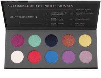 Affect Provocation paleta de sombras de ojos 10 colores