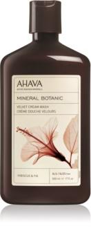 Ahava Mineral Botanic Hibiscus & Fig aksamitny krem pod prysznic
