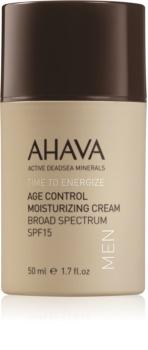 Ahava Time To Energize Men Hydrating Anti - Age Cream SPF 15