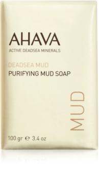 Ahava Dead Sea Mud очищающее грязевое мыло