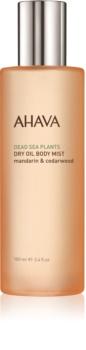 Ahava Dead Sea Plants Mandarin & Cedarwood Dry Body Oil in Spray
