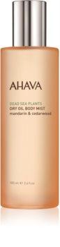 Ahava Dead Sea Plants Mandarin & Cedarwood olio secco corpo in spray