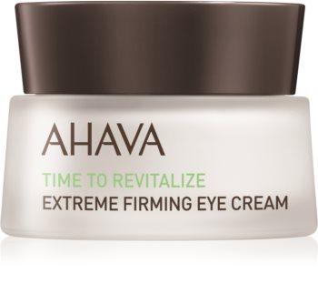 Ahava Time To Revitalize crema reafirmante para contorno de ojos antiarrugas