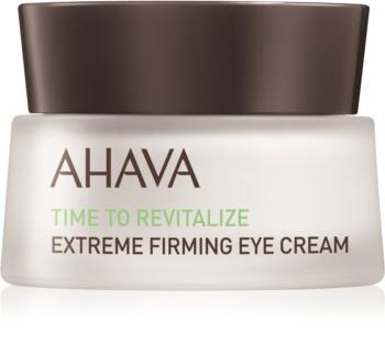Ahava Time To Revitalize ujędrniający krem pod oczy przeciw zmarszczkom