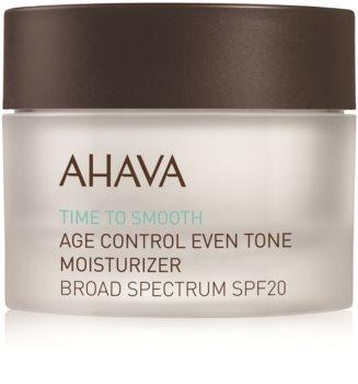 Ahava Time To Smooth crème hydratante éclat SPF 20