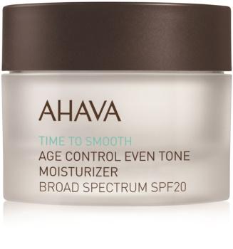 Ahava Time To Smooth Verhelderende Hydraterende Crème  SPF 20