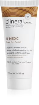 Ahava Clineral D-MEDIC нежный гель-пилинг для ног