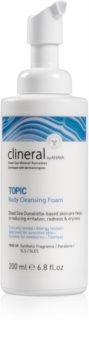 Ahava Clineral TOPIC Dermo lindrande djupt rengörande skum  för kropp