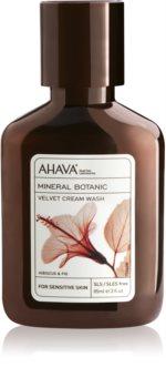 Ahava Mineral Botanic Hibiscus & Fig creme de limpeza aveludado