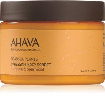 Ahava Dead Sea Plants нежный сорбет для тела