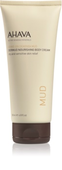 Ahava Dead Sea Mud Nourishing Body Cream  For Dry and Sensitive Skin