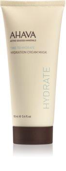 Ahava Time To Hydrate увлажняющая кремовая маска