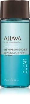 Ahava Time To Clear desmaquillante específico para maquillaje para los ojos resistente al agua  para ojos sensibles