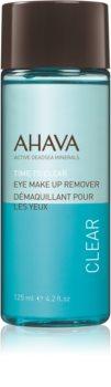 Ahava Time To Clear засіб для зняття водостійкого макіяжу очей для чутливих очей