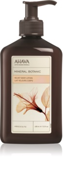 Ahava Mineral Botanic Hibiscus & Fig бархатистое молочко для тела