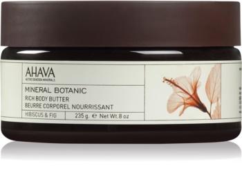 Ahava Mineral Botanic Hibiscus & Fig vyživující tělové máslo