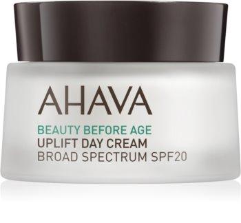 Ahava Beauty Before Age lifting krema za posvetlitev in zgladitev kože SPF 20