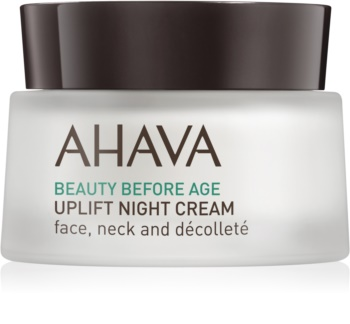 Ahava Beauty Before Age Lifting Night Cream for Face, Neck and Chest