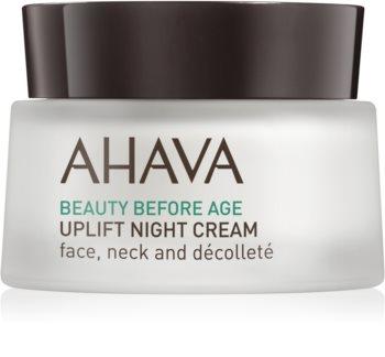 Ahava Beauty Before Age Lyftande nattkräm  för ansikte, hals och bröst