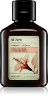 Ahava Mineral Botanic Hibiscus & Fig jedwabiste mleczko do ciała