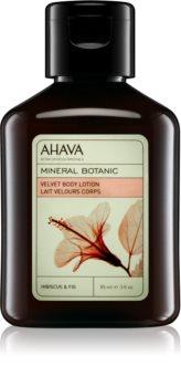 Ahava Mineral Botanic Hibiscus & Fig leite corporal aveludado