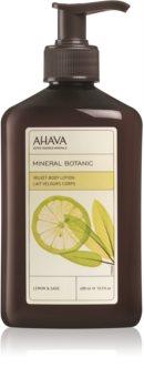 Ahava Mineral Botanic Lemon & Sage delikatne mleczko do ciała