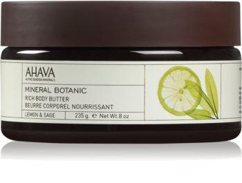 Ahava Mineral Botanic Lemon & Sage питательное масло для тела