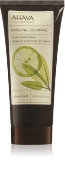 Ahava Mineral Botanic Lemon & Sage sanfte Handcreme