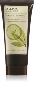 Ahava Mineral Botanic Lemon & Sage нежный крем для рук