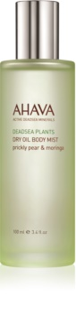 Ahava Dead Sea Plants Prickly Pear & Moringa óleo corporal seco em spray