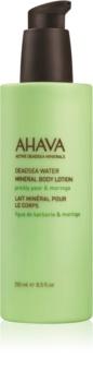Ahava Dead Sea Water Prickly Pear & Moringa loção corporal mineral