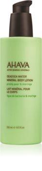 Ahava Dead Sea Water Prickly Pear & Moringa минеральное молочко для тела
