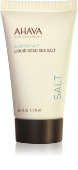 Ahava Dead Sea Salt tekutá soľ z Mŕtveho mora s regeneračným účinkom