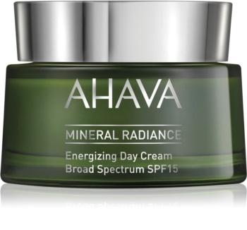 Ahava Mineral Radiance бодрящий дневной крем SPF 15
