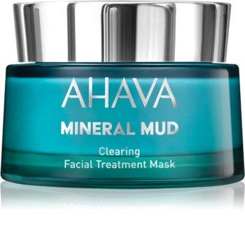 Ahava Mineral Mud очищающая маска для лица для жирной и проблемной кожи