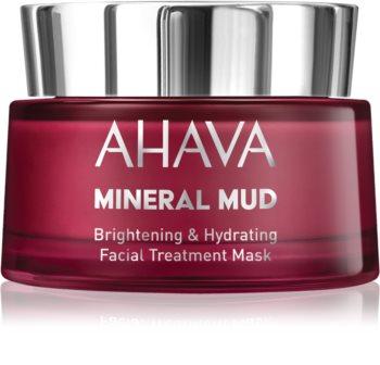 Ahava Mineral Mud posvetlitvena maska za obraz z vlažilnim učinkom