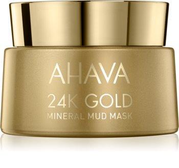 Ahava Mineral Mud 24K Gold mineralische Schlammmaske mit 24 Karat Gold