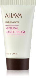 Ahava Dead Sea Water минеральный крем для рук