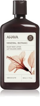 Ahava Mineral Botanic Hibiscus & Fig zamatové telové mlieko