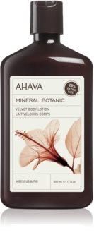Ahava Mineral Botanic Hibiscus & Fig кадифен лосион за тяло