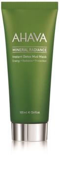 Ahava Mineral Radiance mascarilla desintoxicante de barro para el rostro