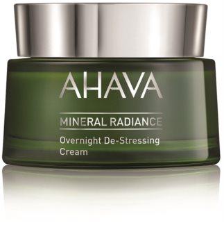 Ahava Mineral Radiance crema de noche antiestrés