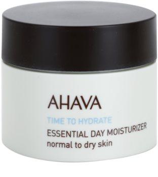 Ahava Time To Hydrate nappali hidratáló krém normál és száraz bőrre