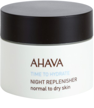 Ahava Time To Hydrate éjszakai regeneráló krém normál és száraz bőrre