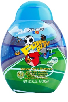 Air Val Angry Birds gel de ducha para niños 300 ml
